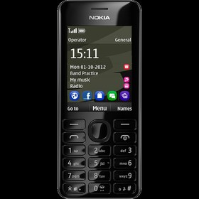 Nokia 206 DS black