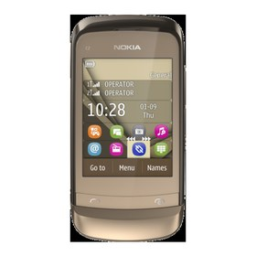 Nokia C2-06 golden buff
